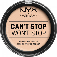 Пудра NYX Professional Makeup Can`t Stop Won`t Stop Full Coverage Powder Foundation 04 Light Ivory 10.7 г (800897182823)