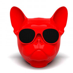 Bluetooth-колонка Aerobull DOG Head Mini Speakerphone Радио Red