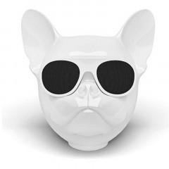 Bluetooth-колонка Aerobull DOG Head Mini Speakerphone Радио White