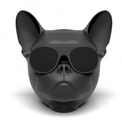 Bluetooth-колонка Aerobull DOG Head Mini Speakerphone Радио Black