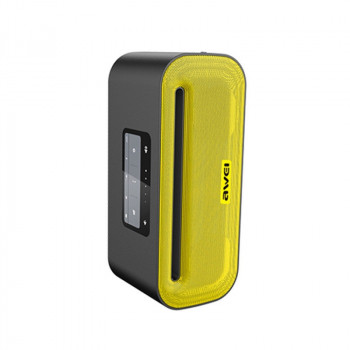 Портативна колонка Awei Y600 Yellow Bluetooth
