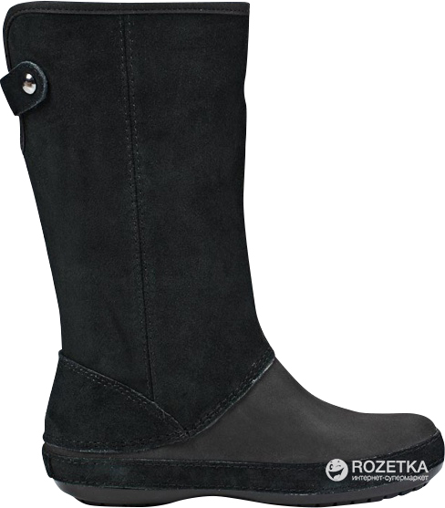 64e17cb4ef Сапоги Crocs Berryessa Tall Suede Boot 12930-060-W9 39 (W9) Черные