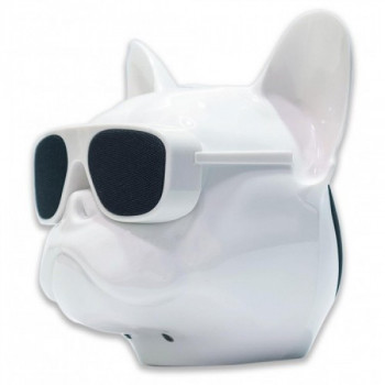 Портативная Bluetooth колонка WIRELESS DOG Head Mini c функцией speakerphone (6036BS)