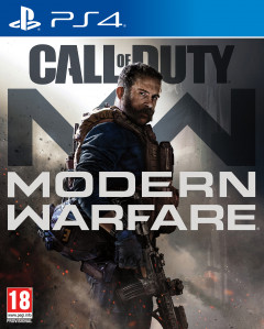 Игра Call of Duty: Modern Warfare для PS4 (Blu-ray диск, Russian version)