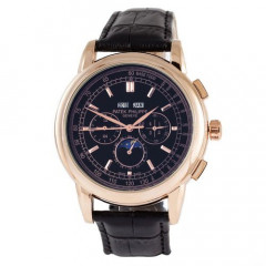 Классические мужские часы Patek Philippe Grand Complications Alternative Black-Gold(10190135)