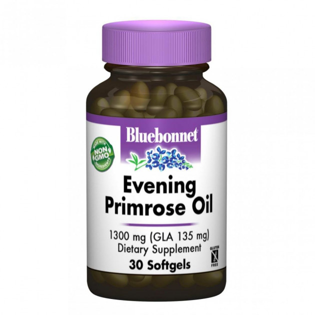 Bluebonnet Nutrition Evening Primrose Oil 1300 mg 30 caps