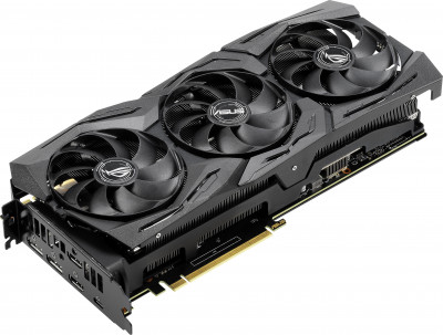 Asus PCI-Ex GeForce RTX 2070 Super ROG Strix OC 8GB GDDR6 (256bit) (1605/14000) (USB Type-C, 2 x HDMI, 2 x DisplayPort) (ROG-STRIX-RTX2070S-O8G-GAMING)