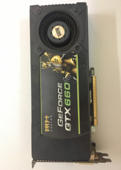 Видеокарта NVIDIA GeForce GTX660 2Gb GDDR5 Refurbished