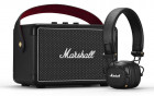 Marshall Summer Bundle (Акустика Kilburn II Black + Наушники Major III Bluetooth Black) - изображение 3