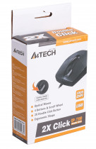 Миша A4 Tech OP-730D USB Black (4711421941839) - зображення 6