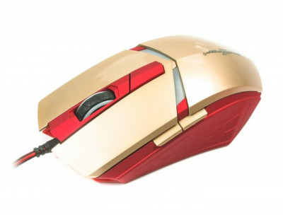 Миша Maxxter G1 Iron Claw Gold/Red USB