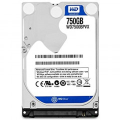 "Накопитель HDD 2.5"" SATA 750GB WD Blue 5400rpm 8MB (WD7500BPVX)"