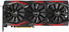 Asus PCI-Ex GeForce RTX 2060 Super ROG Strix 8G Gaming 8GB GDDR6 (256bit) (1470/14000) (2 x DisplayPort, 2 x HDMI, 1 x USB Type-C) (ROG-STRIX-RTX2060S-8G-GAMING)