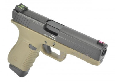 Пістолет APS Action Combat Pistol CO2 Tan (Страйкбол 6мм)