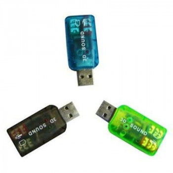 Звукова плата Atcom USB-sound card (5.1) 3D sound (Windows 7 ready) (7807)