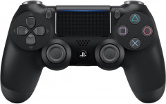 Беспроводной геймпад PlayStation DualShock 4 v2 PS4 Jet Black + Fortnite Bonus Content Bundle (9950400)