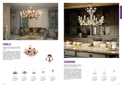 Бра Ideal Lux 121864 Champagne