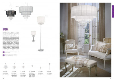 Бра Ideal Lux 122595 Opera
