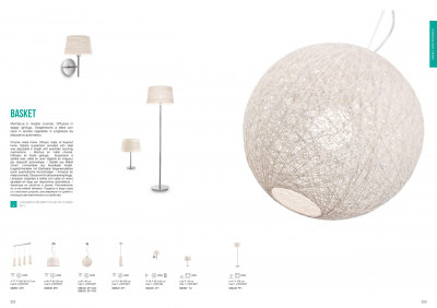 Бра Ideal Lux 082493 Basket