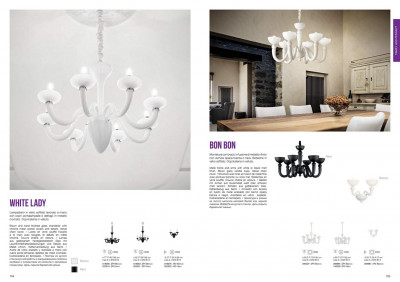 Бра Ideal Lux 020525 White