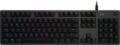 Клавиатура проводная Logitech G512 RGB Mechanical Gaming GX Blue Switch USB Carbon (920-008945)