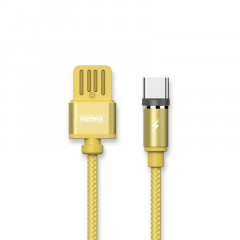 Кабель USB Type-C REMAX Gravity series Magnetic cable Type-C Data/Charge 1m Gold (RC-095A-GOLD)