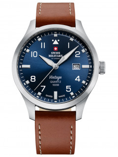 Часы Swiss Military SM34078.07 Herren 43mm 10ATM