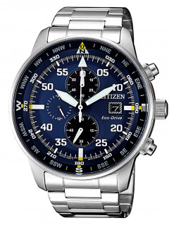 Часы Citizen CA0690-88L Eco-Drive Chronograph 44mm 10ATM