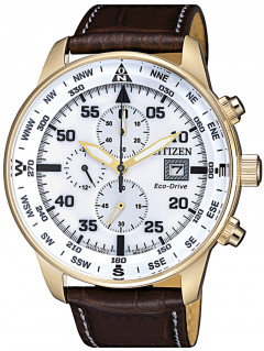 Часы Citizen CA0693-12A Eco-Drive Chronograph 44mm 10ATM