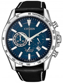 Часы Citizen CA4440-16L Eco-Drive Titanium Chronograph 43mm 10ATM