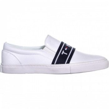 Сліпони Tommy Hilfiger White Tommy білий (SW-0184)