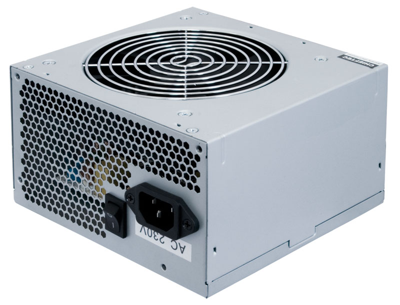 Блок Питания Chieftec GPA-500S8, ATX 2.3, APFC, 12cm fan, КПД 85%, bulk