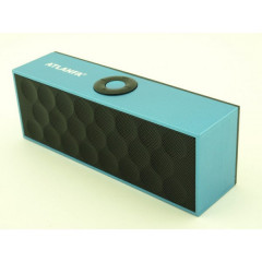 Портативная Bluetooth колонка Atlanfa AT-7727 BT 6W Blue&Black