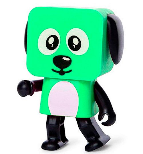 Колонка Dancing Dog Bluetooth Speaker Green - зображення 1