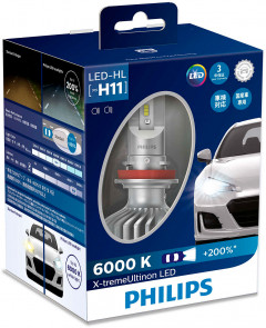 Автолампа Philips H11 X-treme Ultinon Led (11362XUX2)
