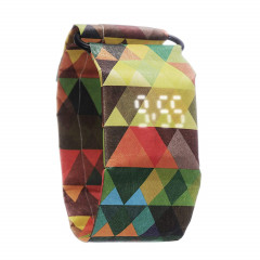 Бумажные часы Paper Watch Triangles Colorful (MRPL00320)
