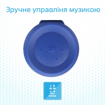 Колонка Bluetooth Promate Silox Blue