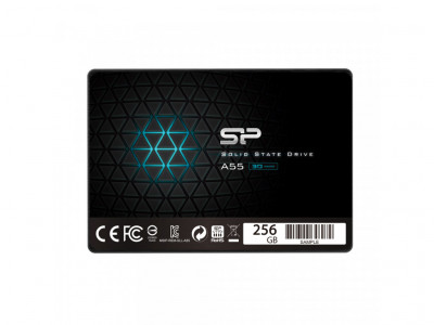 256Gb SSD накопичувач Silicon Power Ace A55 (SP256GBSS3A55S25)