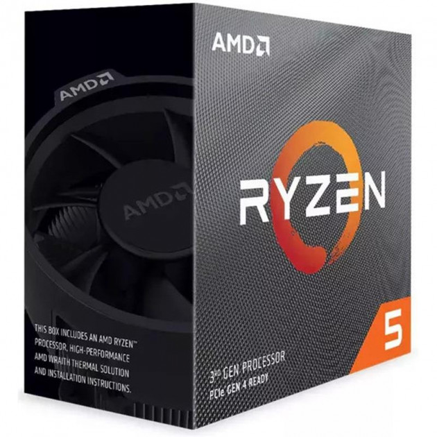 Процессор AMD Ryzen 5 3600X (3.8GHz 32MB 95W AM4) Box (100-100000022BOX) - изображение 1