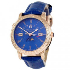 Наручные часы премиум Patek Philippe Grand Complications 5160 Sky Moon Blue-Gold-Blue - 760356428 - 760356428