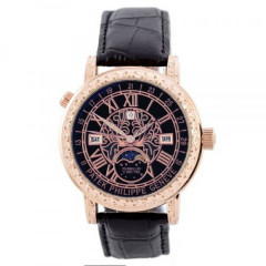 Patek Philippe Grand Complications 6002 Sky Moon Black-Gold-Black
