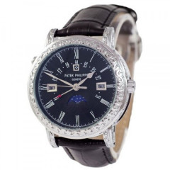 Patek Philippe Grand Complications 5160 Sky Moon Black-Silver-Black