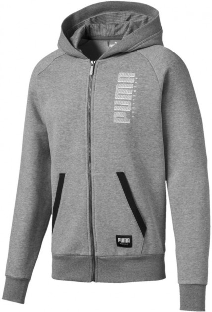 Толстовка Puma Athletics Fz Hoody Fl 58015103 L Medium Gray Heather (4060981378174) - изображение 1