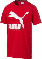 Футболка Puma Classics Logo Tee 59513211 L High Risk Red (4060981527145) - изображение 1