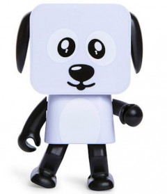 Колонка Dancing Dog Bluetooth Speaker White