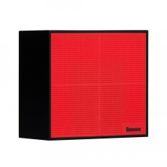 Bluetooth Speaker Baseus NGE05 Encok Music-Cube Red Black, 91 (22753)