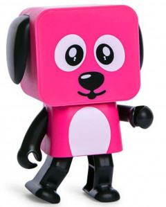 Колонка MOB Dancing Dog Bluetooth Speaker Pink