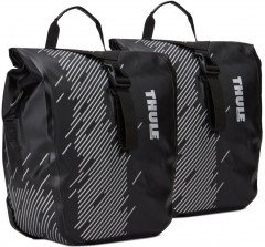 Сумка для велосипеда Thule Shield Pannier Small (pair) - Monument/Black 100075 (TH100075)