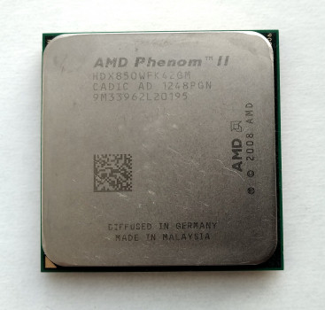 Процесор AMD Phenom II X4 850 3,3 GHz sAM3 Tray 95w (HDX850WFK42GM) Propus Б/У
