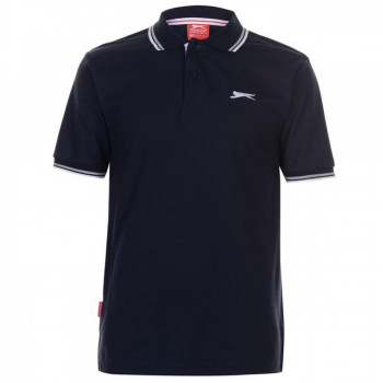 Поло Slazenger Tipped Polo Navy, 4XL (10073237)